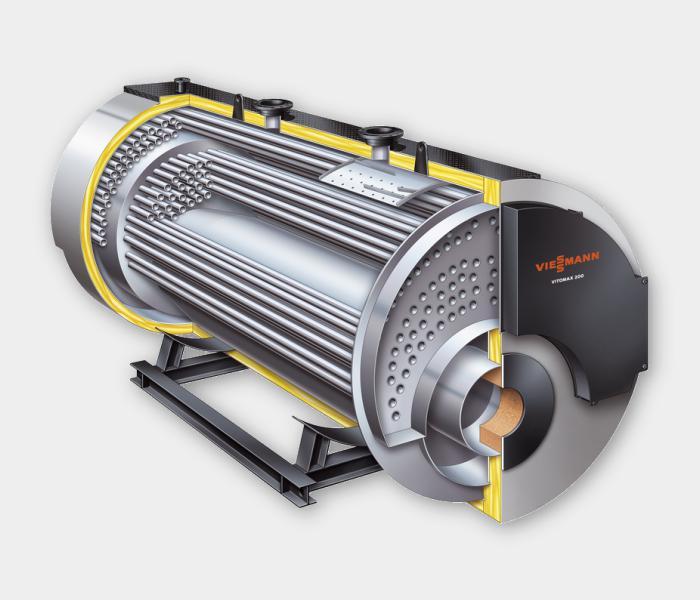 водогрейный газовый котел viessmann vitomax-200 m241 007 расход газа