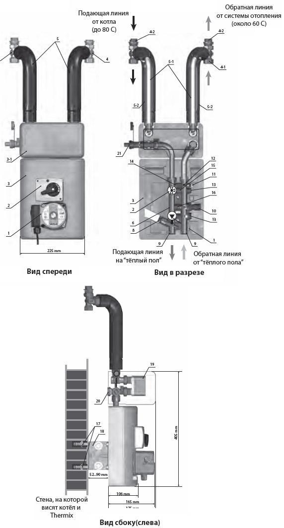 Теплообменник электрический 220в длина теплообменника
